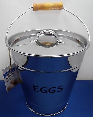 Eddingtons Kitchen Farmhouse Country Egg Pail Bucket Storage Collect Store