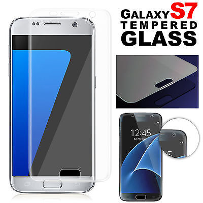 Full Coverage Clear Tempered Glass Screen Protector Film For SAMSUNG GALAXY S7