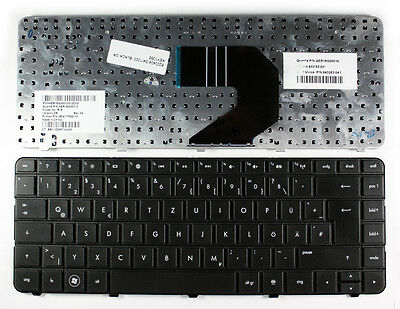 HP 643263-041 Black German Layout Replacement Laptop Keyboard