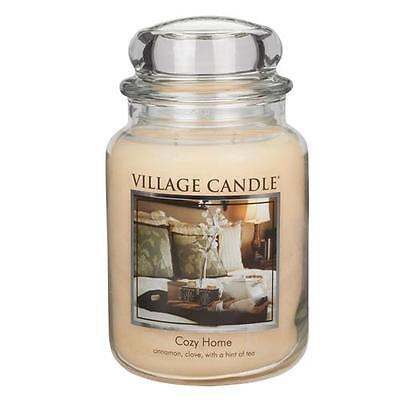 Village Candle Cozy Home Large Jar Scented Candle