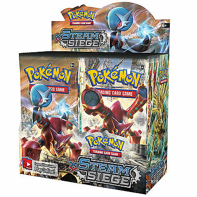 Pokemon XY-11 Steam Siege Sealed Booster Box - 36 Packs - New Trading Cards 2016