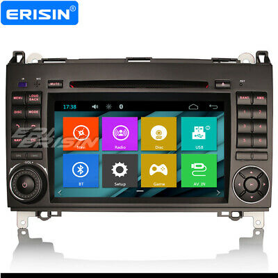 Car Stereo DAB GPS Mercedes Benz A/B Class W169 W245 Sprinter Vito Viano Crafter