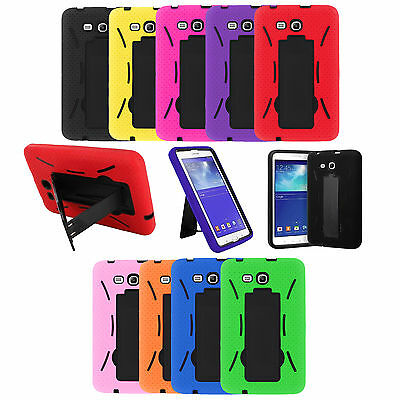 Hybrid Case Kickstand Screen Protector Cover For Galaxy Tab A 7.0 T280 SM-T280