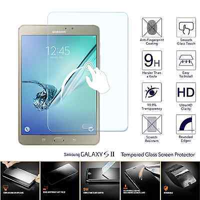 100% Genuine Tempered Glass Screen Protector For Samsung Tab S2 9.7 T810 T815