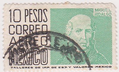 (MCO-339) 1950 Mexico 10p black& green