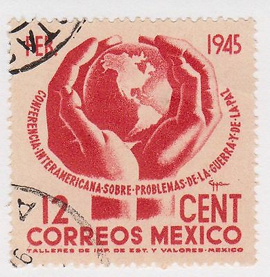 (MCO-266) 1945 Mexico 12c red inter-American (A)