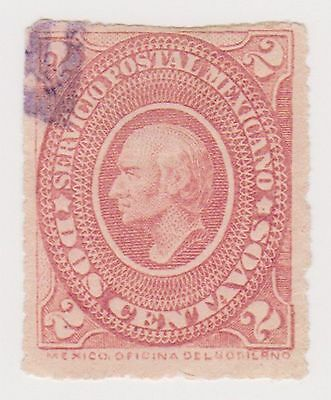 (MCO-27) 1884 Mexico 2c red HILDARGO
