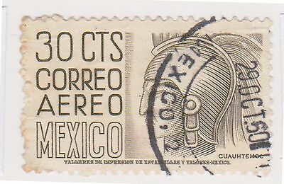 (MCO-313) 1950 Mexico 30c olive (A)