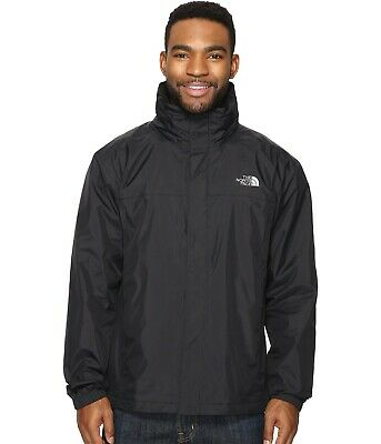 The North Face Men's Resolve 2 Waterproof Shell DryVent TNF Black Sz S-3XXL NWT