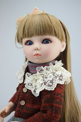 New 1/4 Handmade PVC BJD MSD Lifelike Doll Joint Dolls Baby Toy New Susanna Gift