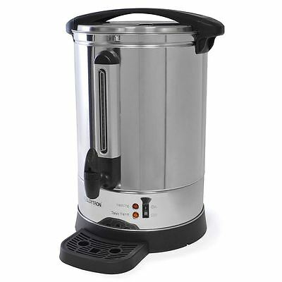 Lloytron Stainless Steel Catering Water Boiler Urn with Anti-Drip Tap 20L -2.5KW