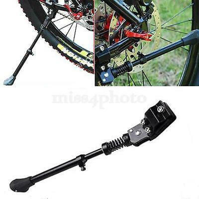 MTB Bike Bicycle Aluminum Adjustable Outrigger Foot Kickstand Rack Stand Storage