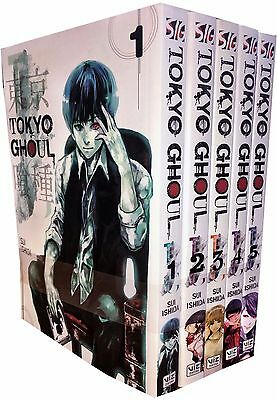Tokyo Ghoul Volume 1-5 Collection 5 Books Set Children Manga Books Series 1 NEW