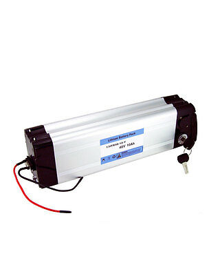 Li-ion Battery for electric bicycle e-bike 48V 10Ah with charger Lithium