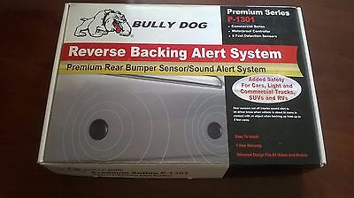 NEW Bullydog P-1301 Premium Reverse Vehicle Backing Alert System 8FT detection G