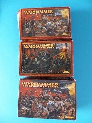 WARHAMMER Games Workshop Paintable Figures / Body Parts / Weapons etc