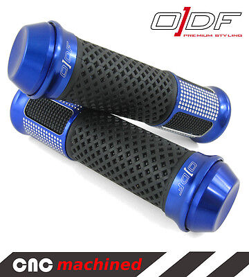 "Hand Handle Bar Grips Vespa Cosa, GT, Lusso, PK, T5 ""TC-Line"" blue"