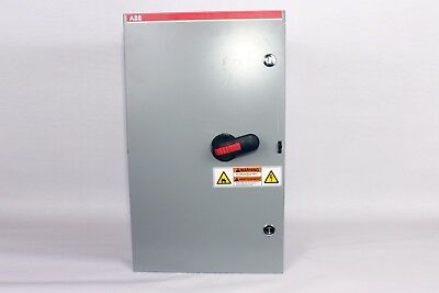ABB FJ2001-4P  200 Amp, 150 HP Max, 600V, 3P, 60Hz Switch, Fuses not Included