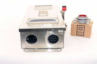 Square D CH363DS  100 Amp, 600V, Stainless Steel, Fusible Disconnect Switch