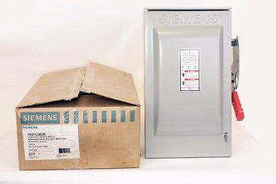 Siemens HNFC362R  60 Amp, 600V, Type 3R, Non-Fusible Disconnect Switch