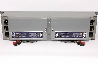 Square D QMB362T  Series D2, 60A/60A, 600V, QMB Twin Fusible Switch