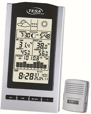 Tesa Wireless Temp Station With Moon - Ws1151
