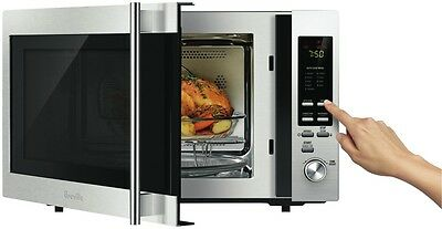 NEW Breville BMO715BSS 30L Convection Grill Stainless Microwave
