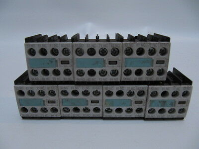 Siemens Auxiliary Contacts 3RH1911-1FA22