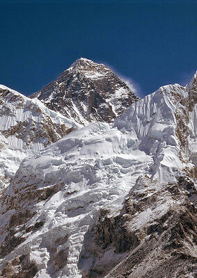 Mount Everest Himalayan Panorama Poster 17 X 33 Inches