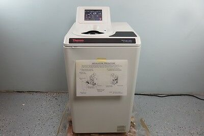Thermo Sorvall MX120 Micro Ultracentrifuge with Warranty Video in Description