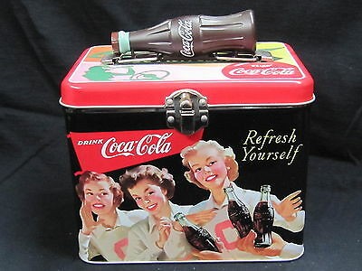 "Coca-Cola Tin Box ""Refresh Yourself"" - NEW"