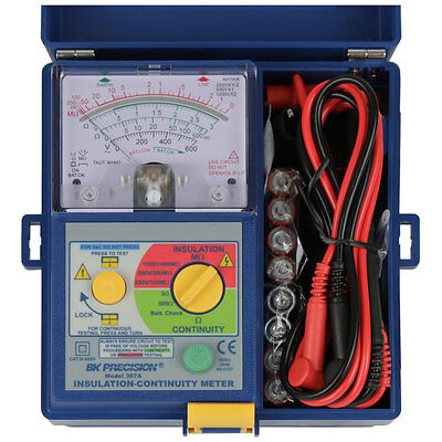 BK Precision 307A Analog Insulation And Continuity Meter, US Authorized Dealer