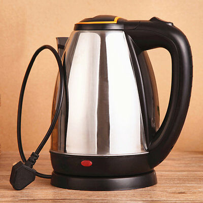 2L Good Quality Stainless Steel Electric Automatic Cut Off Jug Kettle JHL