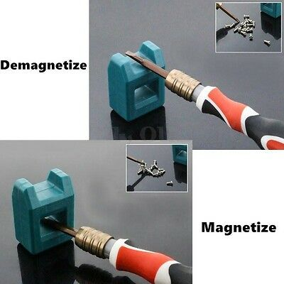 Mini Magnetizer Demagnetizer Screwdriver Tips Screw Driver Magnetic Tools Home