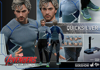 Hot Toys Quicksilver Marvel Avengers Age of Ultron 1/6 Scale