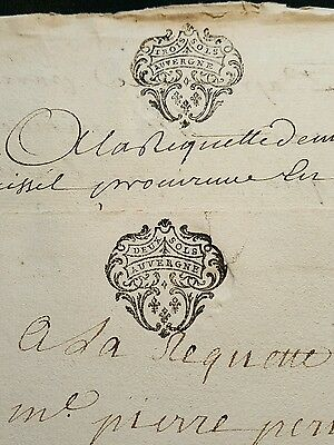 LOT OF TWO OLD DOCUMENTS   1700s