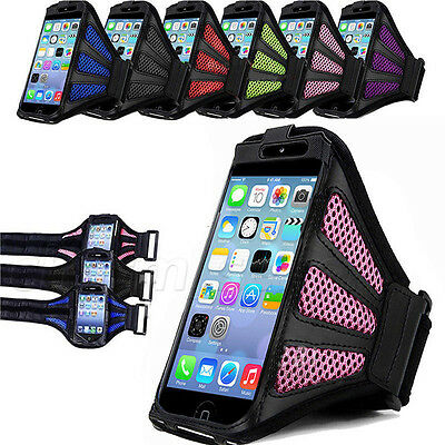 Sport Running Armband Arm Band mesh Train Case Cover holder For iPhone 6/6 plus