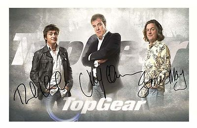 JEREMY CLARKSON AUTOGRAPHED SIGNED /& FRAMED PP POSTER PHOTO