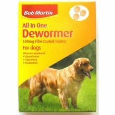 Bob Martin All in One Dewormer - Large Dog 500mg NEW