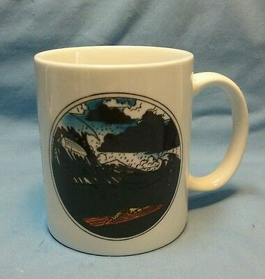 """U.s. Coast Guard """"team Up For Safety"""" Coffee Cup"""