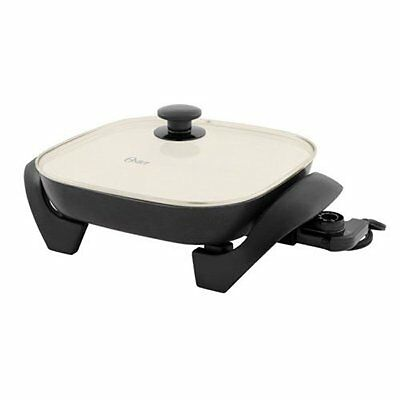 Frying Pan Electric Skillet Non Stick Ceramic Pan Oster Small Kitchen Appliances