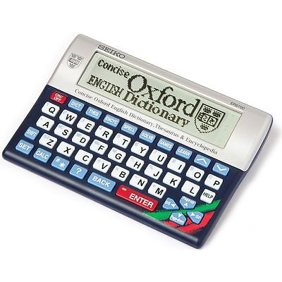 Concise Oxford Dictionary, Thesaurus & Encyclopedia By Seiko (ER6700)