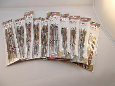 KnitPro Symfonie Dpn's, various sizes, 15cm, double pointed needles