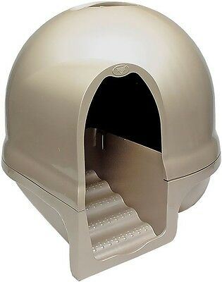 Booda Cleanstep Cat Litter Box Cappuccino
