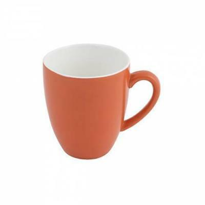 6x Mug Jaffa Orange 400mL Bevande Coffee Mugs Cups Hot Chocolate Cup Cafe