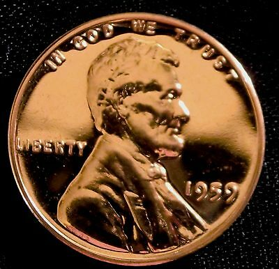 1959 1C RD (Proof) Lincoln Cent