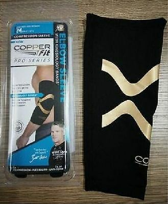 Copper Fit LARGE  Infused Elbow Compression Sleeve - As Seen on TV