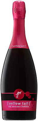 Yellow Tail Red Moscato Bubbles Nv 750ml