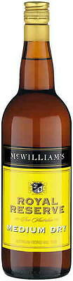 Mcwilliam's Royal Reserve Medium Dry Sherry 750ml