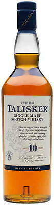 Talisker 10 Year Old Scotch Whisky 700ml